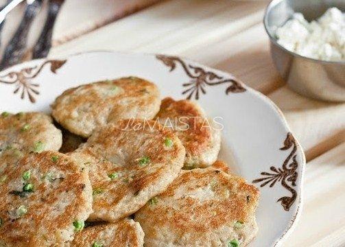 Aštrūs virtų bulvių blyneliai