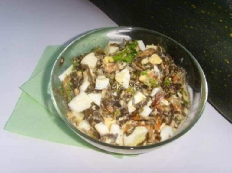 Jūros kopūstų salotos