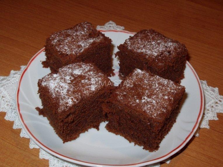 Šokolado pyragas