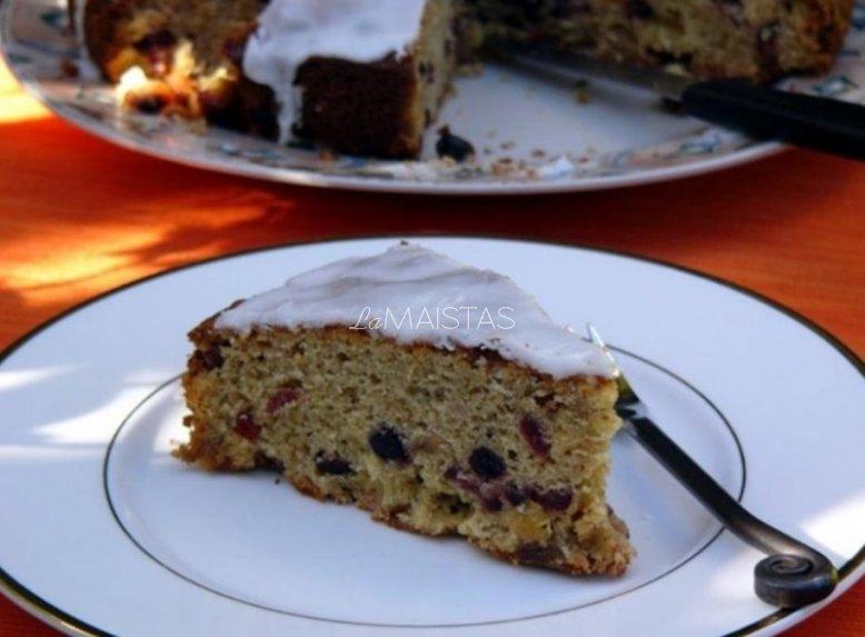 Airiškas viskio pyragas
