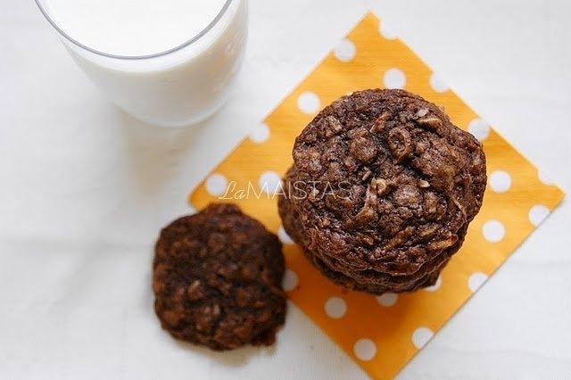Vokiški šokoladiniai sausainiai