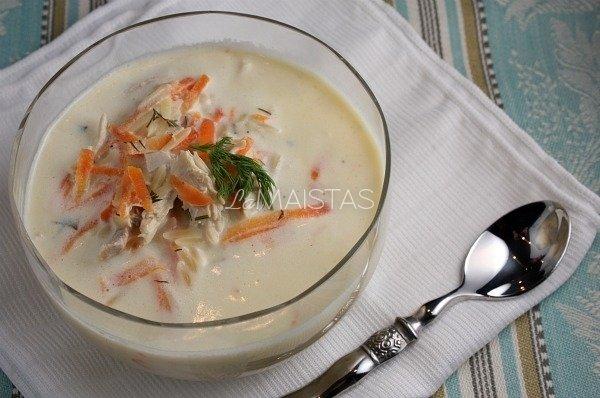Graikiška vištienos sriuba