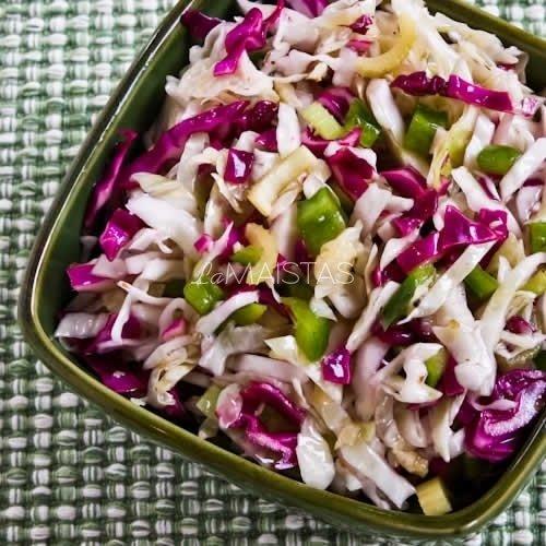 Kopūstų salotų