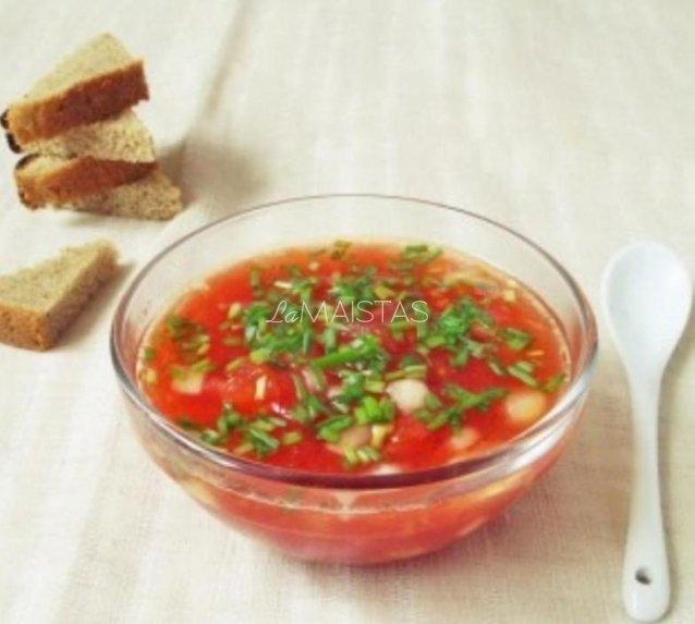 Šalta gaspačio sriuba