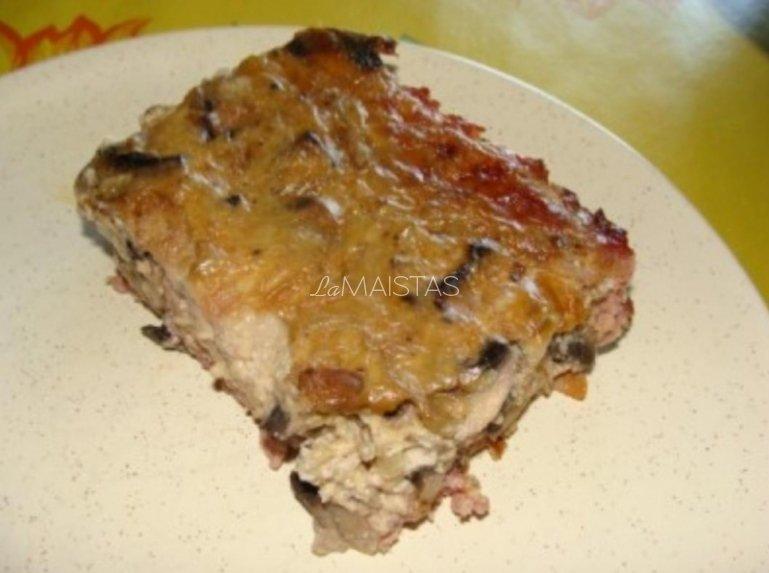 Mėsos pyragas su įdaru