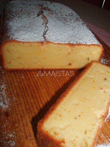 Citrininis pyragas su rikotos sūriu