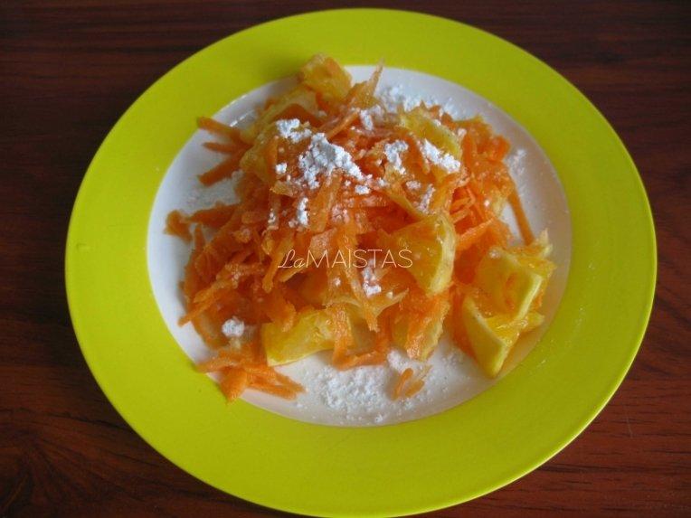 Aromatingos morkų salotos