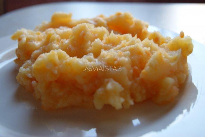 Bulvių ir morkų košė