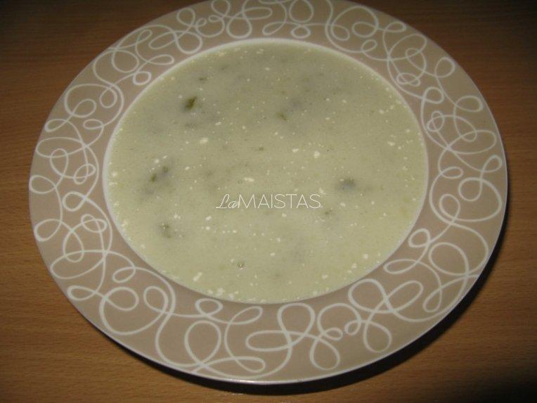 Rūgštynių sriuba be kiaušinio
