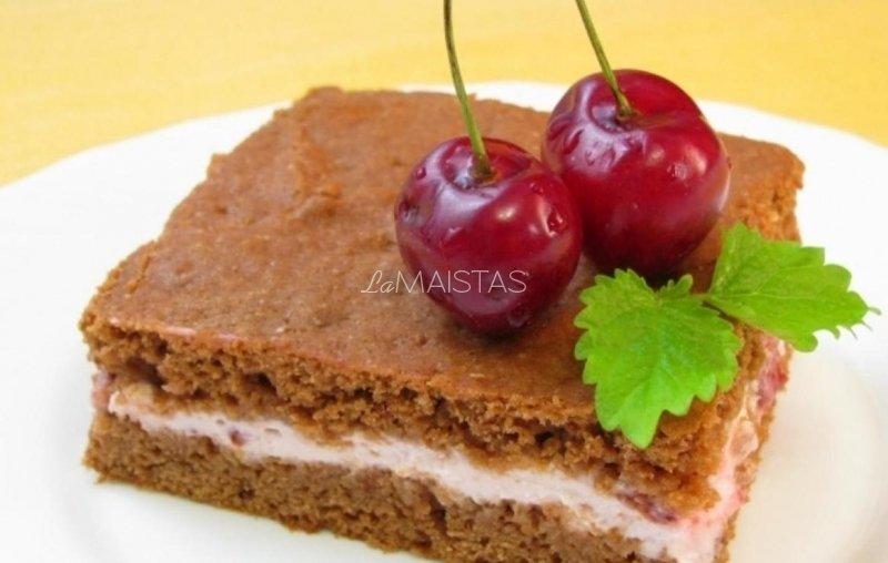 Šokoladinis pyragas su pertepimu