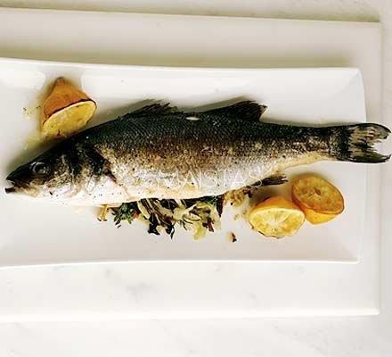 Molyje kepta žuvis