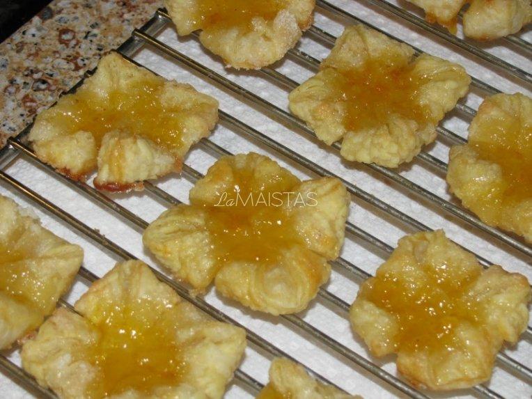 Pyragėliai su abrikosais