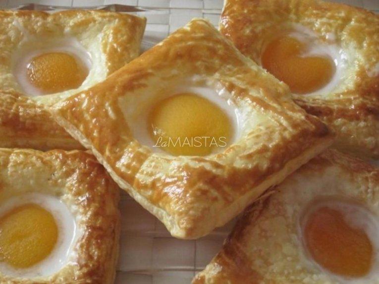 Pyragėliai Su Persikų Puselėmis Receptas La Maistas