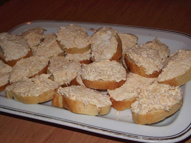 Sūrio ir varškės užtepėlė