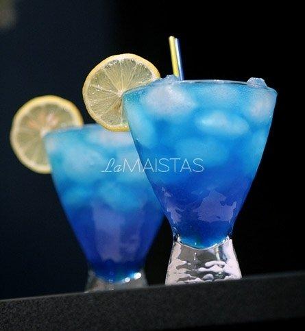 "Kokteilis ""Žydroji lagūna"""