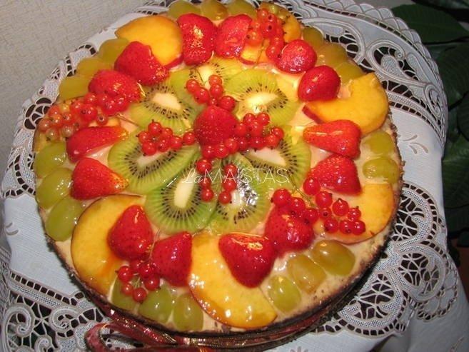 "Jogurto tortas ""Vasaros svajonė"""