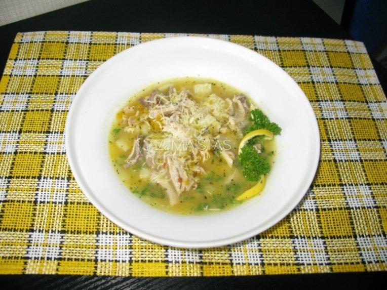 Blėkų sriuba