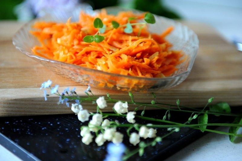 Sveikuoliškosios Korėjietiškos morkos