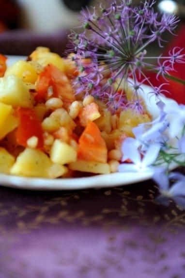 Daržovės indiškai