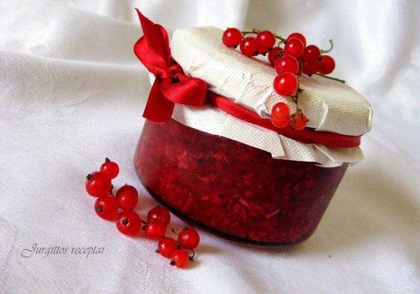 Raudonųjų serbentų padažas žiemai
