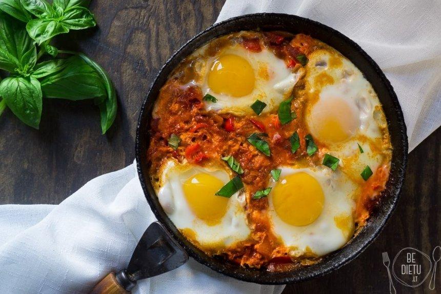 Šakšuka kiaušinienė