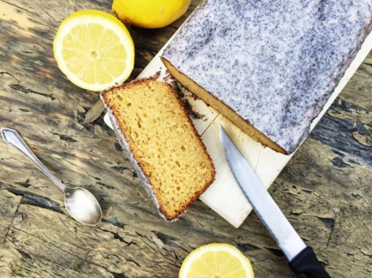 Prancūziškas jogurtinis citrinų pyragas