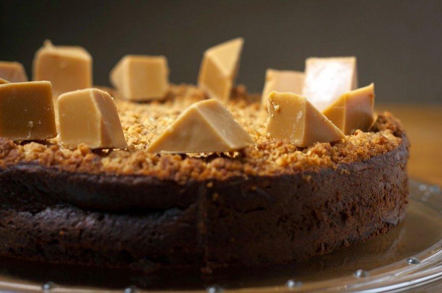 Moliūgo ir varškės pyragas