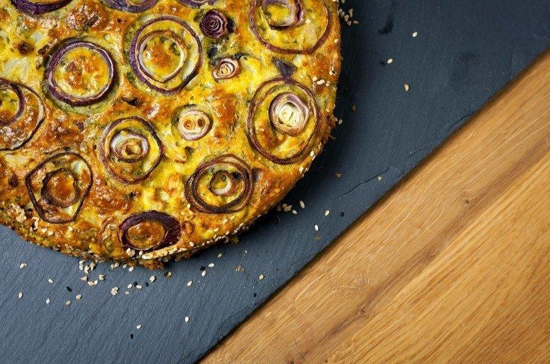 Žiedinių kopūstų pyragas