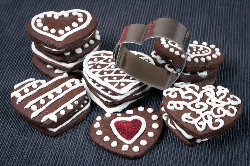 Traškūs šokoladiniai meduoliai