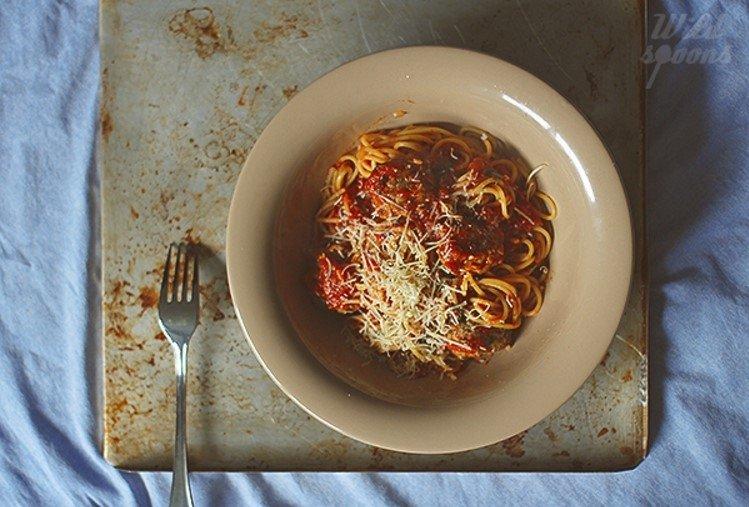 Kalakutienos vištienos kukuliukai pomidorų padaže