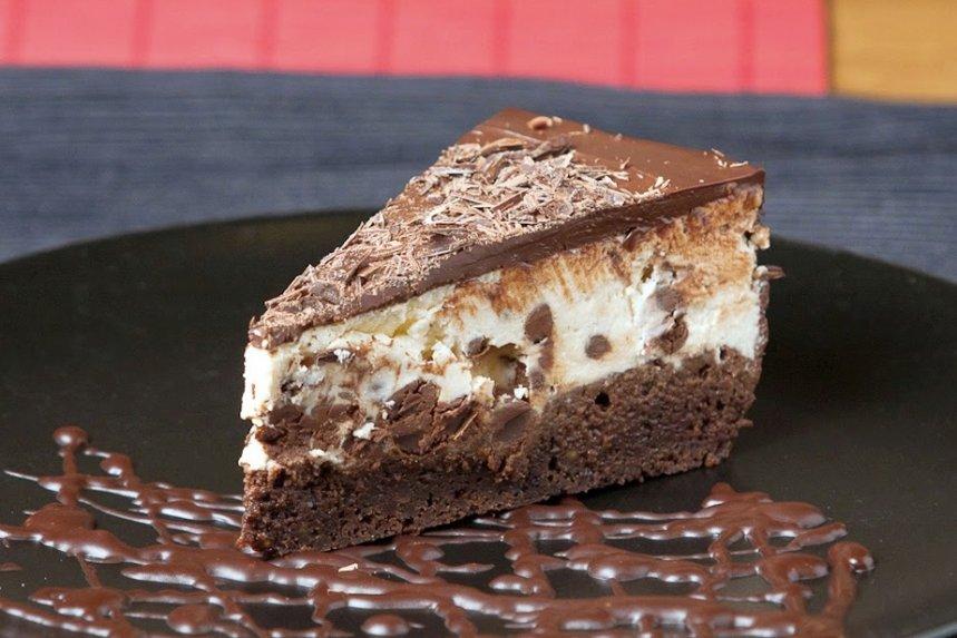 Karališkas varškės ir šokolado pyragas