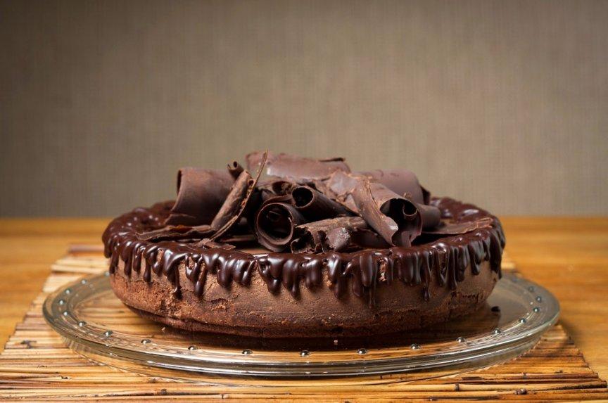 Fantastiškas šokoladinis varškės pyragas pagal Aliną
