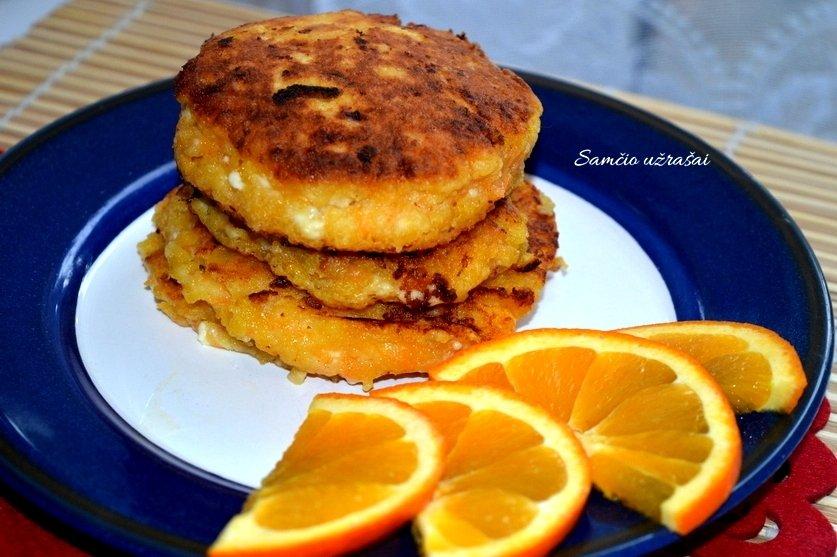 Morkų var�kėĨiai su apelsinais