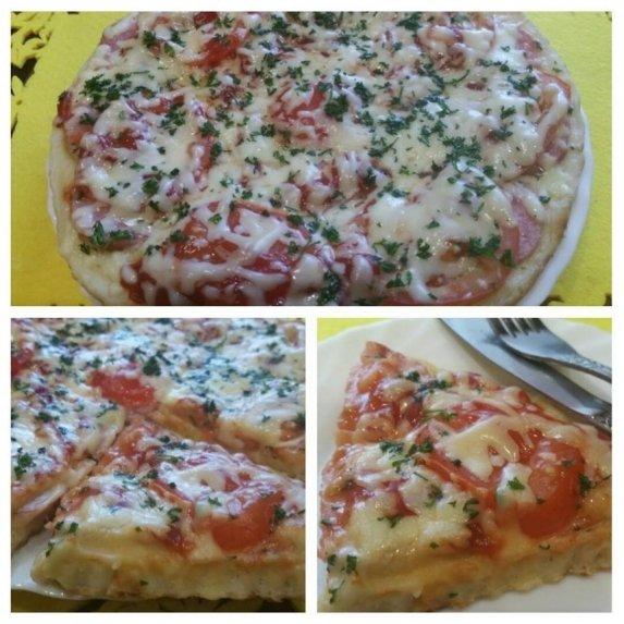 Skanioji naminė pica per 10 minučių