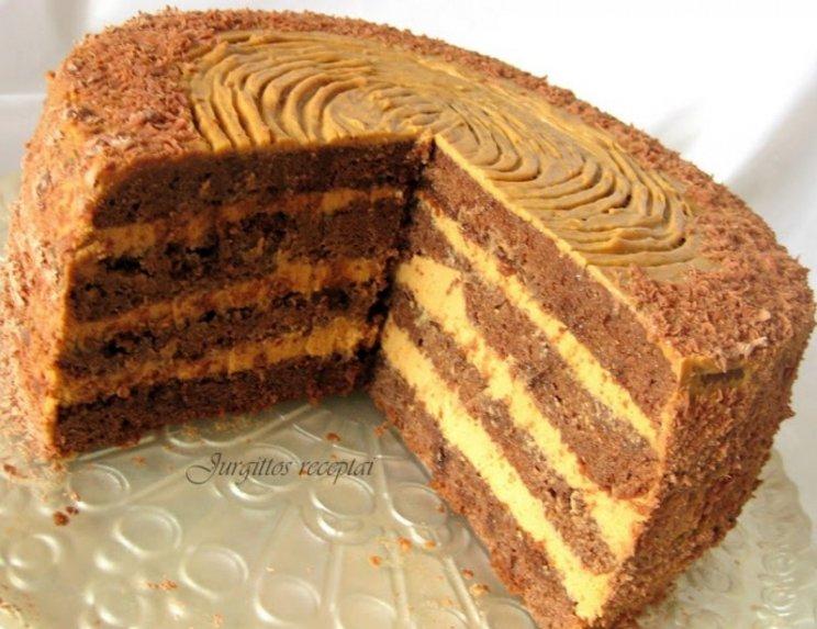 Fantastiškas karamelinis kavos tortas