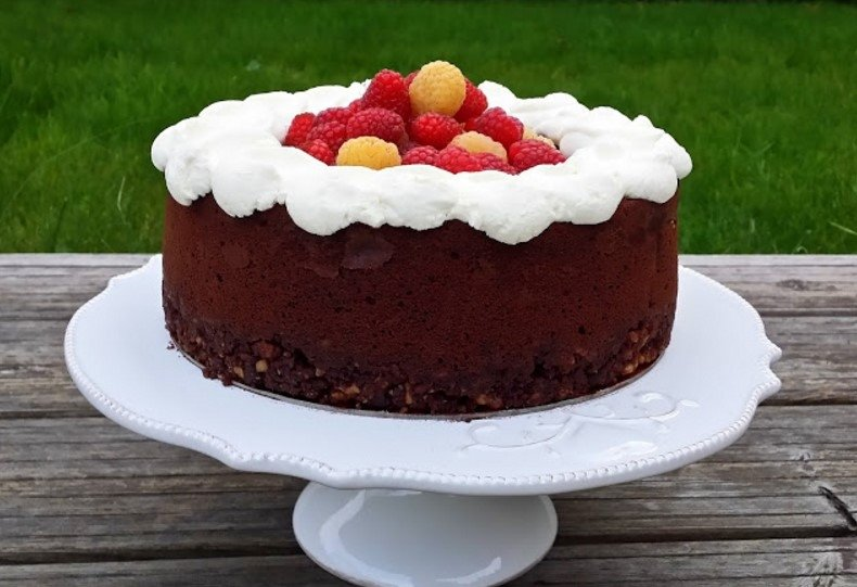 Nuostabus šokoladinis maskarponės pyragas