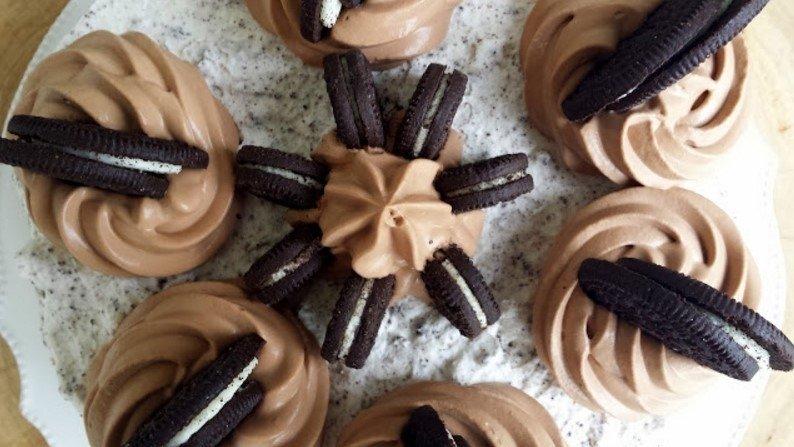 Nepakartojamas varškės pyragas su oreo sausainiais