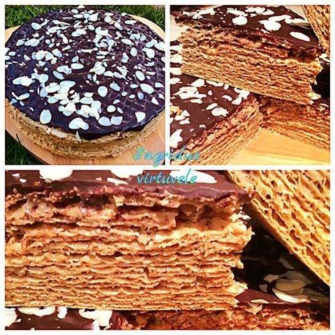 Nekeptas vaflinis chalvos tortukas - skanus ir greitas