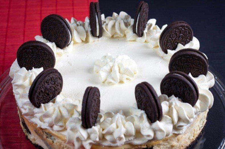 Nuostabus varškės pyragas su Oreo sausainiais