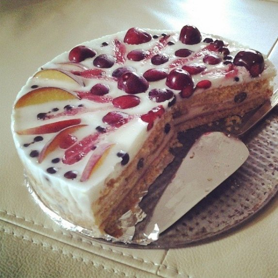 Gaivus jogurtinis tortas