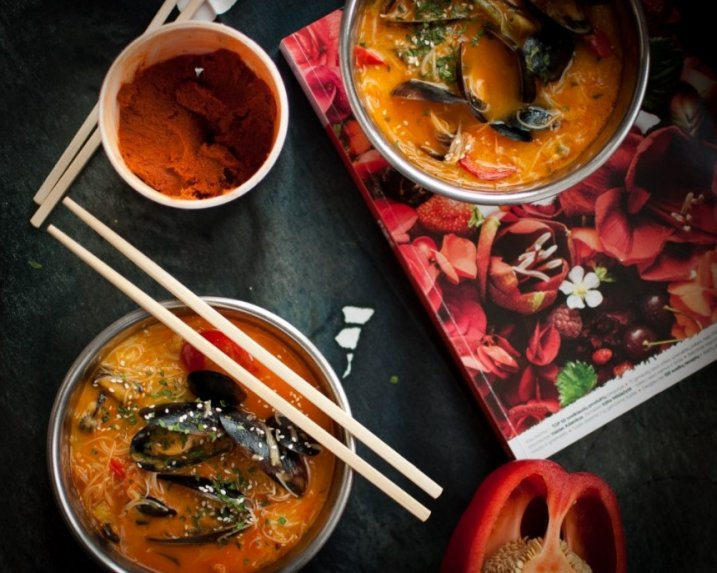 Laksa azijietiška sriuba