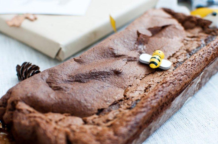 Dieviškas šokoladinis braunis tik iš dviejų ingredientų