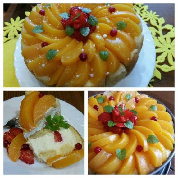 Gaivus varškės ir vaisių tortas be želatinos - nuostabiai skanus!