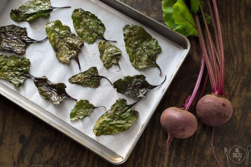 Burokėlių lapų tra�kuĨiai - sveika ir nesudėtinga