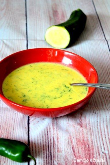 Trinta bulvių ir cukinijų sriuba