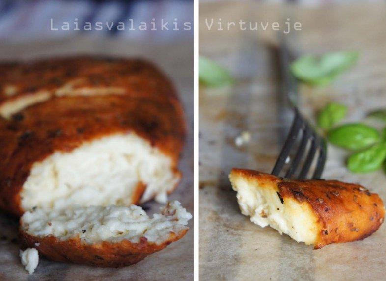 Orkaitėje keptas sūris