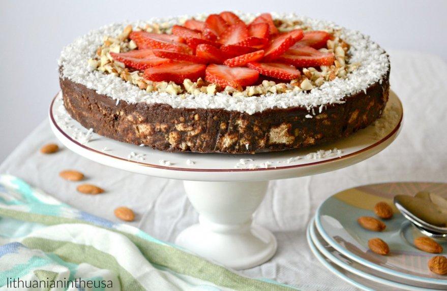Šokoladinis tinginio tortas