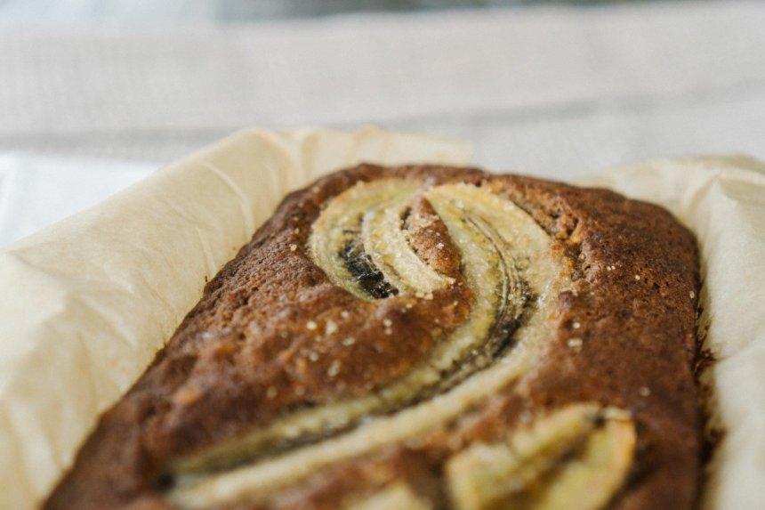 Greita bananų duona be kvietinių miltų