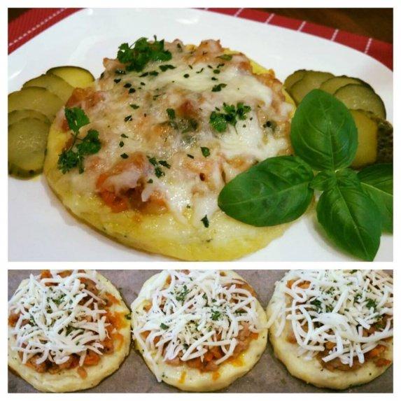 Virtų bulvių picos
