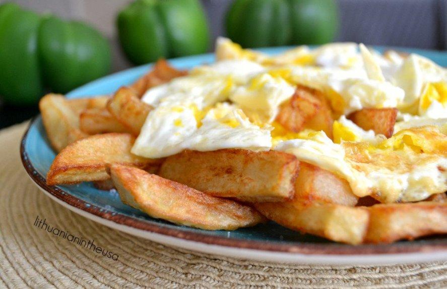 Keptos bulvytės ispanišku stiliumi